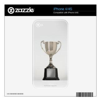 Silver Trophys iPhone 4S Skin