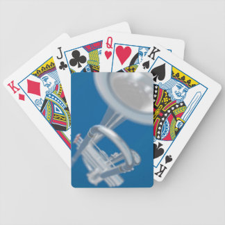 Silver Trumpet Music Bicycle® Play Bicycle Playing Cards