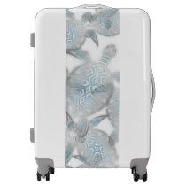 Silver Turtles  Pattern Luggage