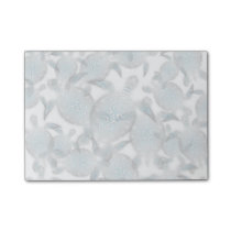 Silver Turtles  Pattern Post-it Notes