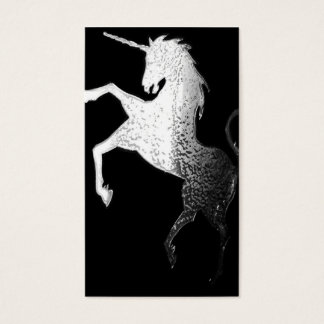Silver Unicorn - business cards