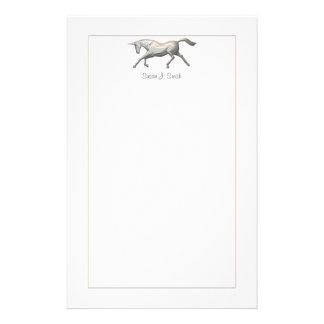Silver Unicorn Stationery
