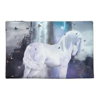 Silver Unicorn Travel Accessory Bag