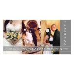 SILVER UNION | WEDDING THANK YOU CARD PHOTO CARD