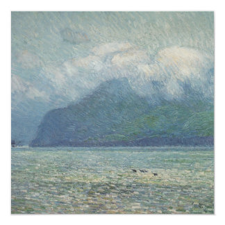 Silver Veil and Golden Gate by Childe Hassam Card