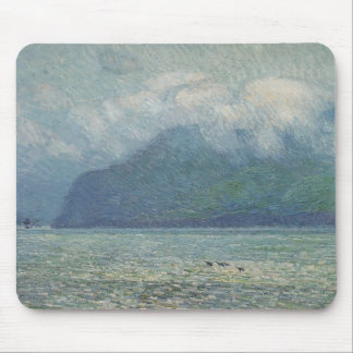 Silver Veil and Golden Gate by Childe Hassam Mouse Pad