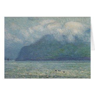 Silver Veil and Golden Gate by Hassam, Vintage Art Greeting Cards