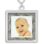 Silver Vintage Frame Custom Jewelry