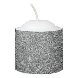 silver votive candle