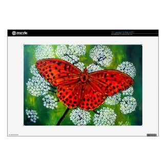 """Silver-washed Fritillary Skin For 15"""" Laptop"""