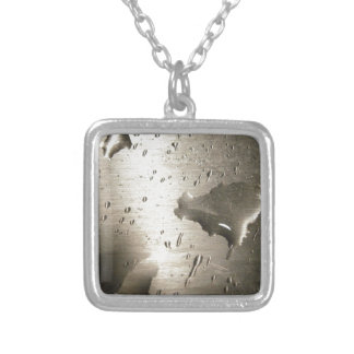 Silver Watermark Silver Plated Necklace