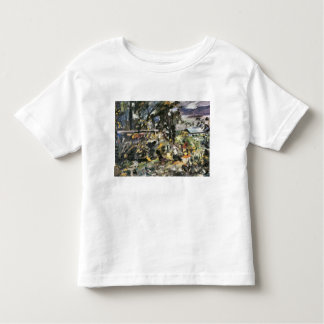 Silver way by Lovis Corinth Toddler T-shirt
