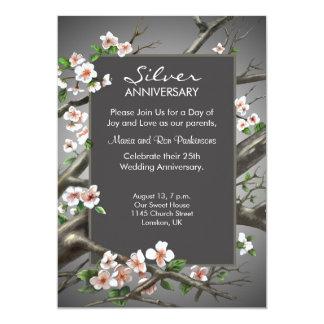 Silver Wedding Anniversary - 25th years Invitation