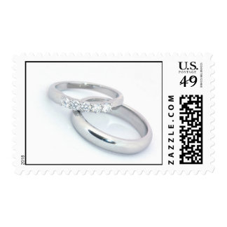 Silver Wedding Bands Postage