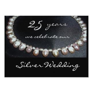 Silver wedding… invitation English