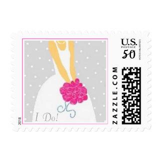 Silver Wedding Postage Stamp