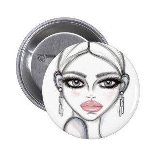 Silver - Wendy Buiter Pinback Button
