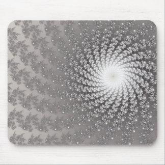 Silver Whirlpool2 Mousepad