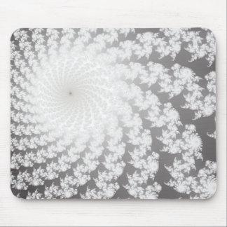 Silver Whirlpool Mousepad