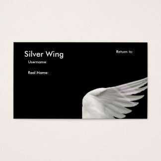 Silver Wing Buisness Card