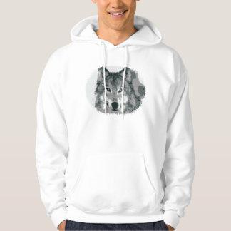 Silver Wolf Hoodie