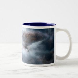 Silver Wolf Mug