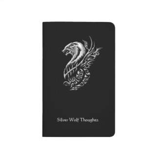 Silver Wolf Thoughts Journal