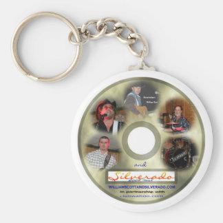 silverado cd label keychain