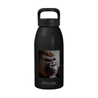 Silverback del gorila Boss Botella De Beber