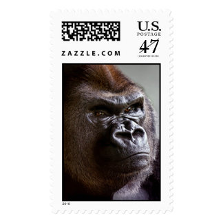 Silverback del gorila Boss Estampilla