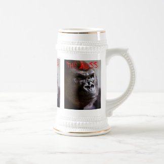 Silverback del gorila Boss Stein gigante Tazas De Café