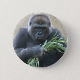 Silverback Gorilla Button
