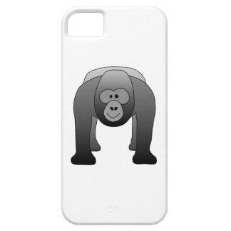 Silverback Gorilla Cartoon iPhone SE/5/5s Case