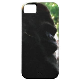 Silverback Gorilla Closeup Watercolor Nature Art iPhone SE/5/5s Case