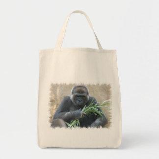 Silverback Gorilla Grocery Tote Bag