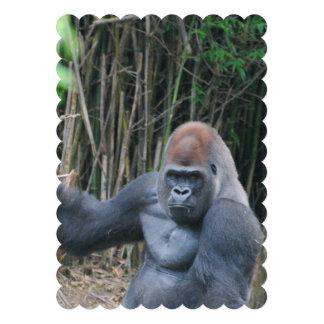 Silverback Gorilla Personalized Announcement