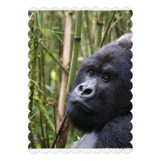 Silverback Gorilla Invitations
