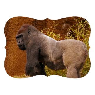 Silverback Gorilla Personalized Invites
