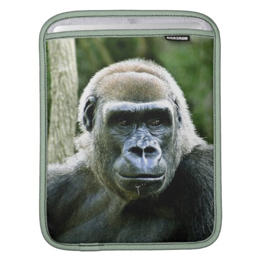 Silverback Gorilla iPad Case Sleeve For iPads