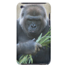 Silverback Gorilla Itouch Case at Zazzle