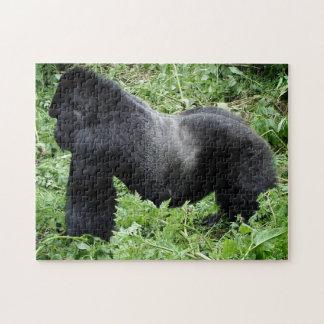 Silverback gorilla jigsaw puzzle