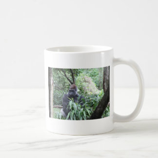 silverback gorilla classic white coffee mug