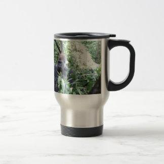 silverback gorilla 15 oz stainless steel travel mug