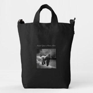 Silverback Gorilla Perosnalize Duck Bag