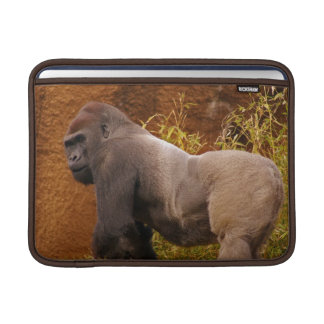 "Silverback Gorilla Photo  13"" Macbook Sleeve"