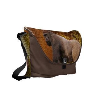 Silverback Gorilla Photo  Messenger Bag