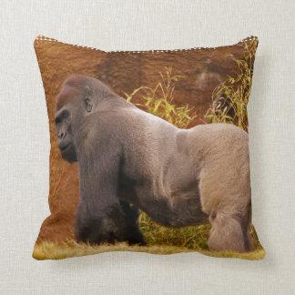 Silverback Gorilla Photo  Pillow