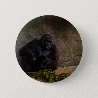 Silverback Gorilla Relaxing Button