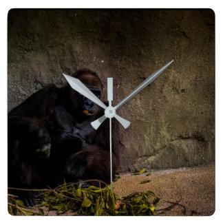 Silverback Gorilla Relaxing Wall Clock