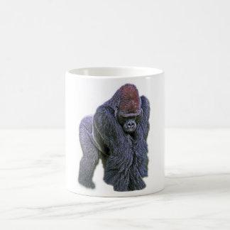 Silverback Gorilla, White Back (g2p2) Coffee Mug